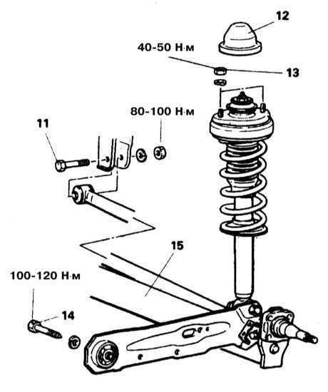 Подвеска и рулевое управление Mitsubishi Galant 1990-2001
