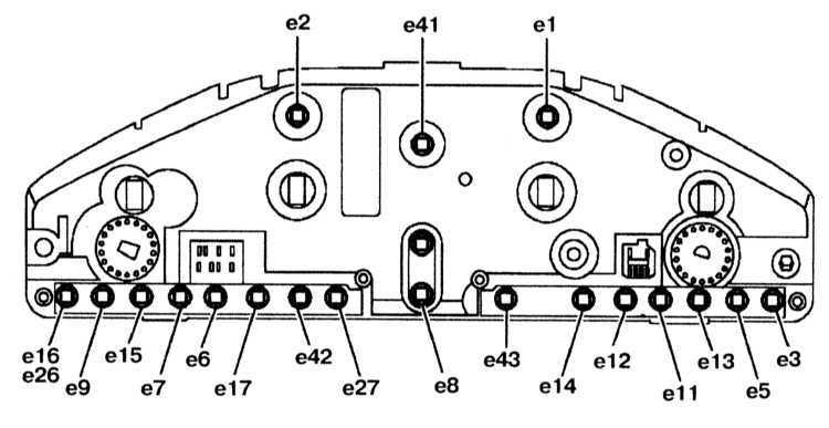 Контрольные лампы и сигнальные индикаторы приборного щитка