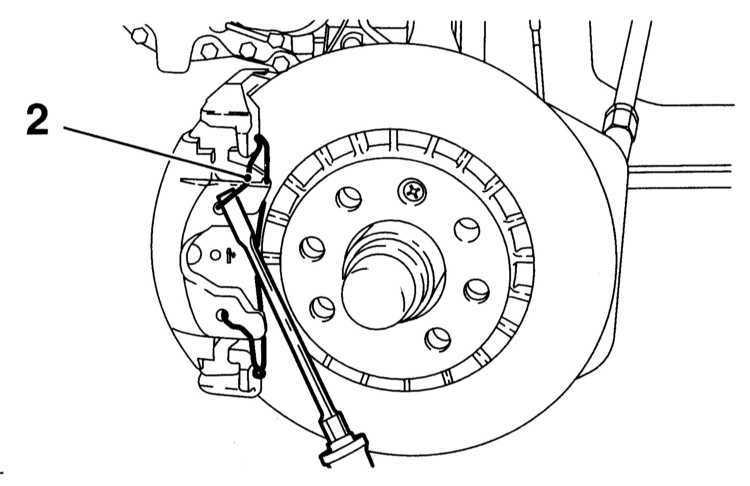 Замена колодок дисковых тормозных механизмов передних