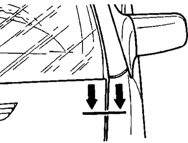 Регулировка капота Mercedes-Benz W140 1991-1999