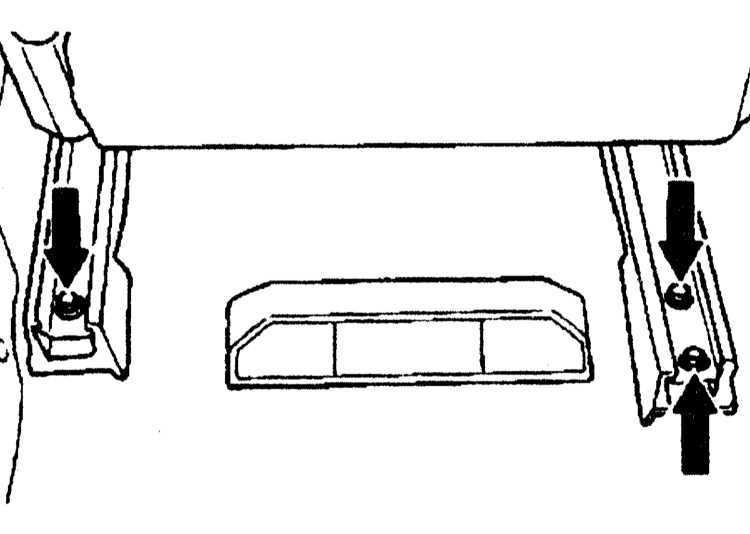 Снятие и установка сидений Mercedes-Benz W140 1991-1999