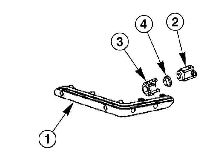Снятие и установка датчиков парковки Mercedes-Benz W203