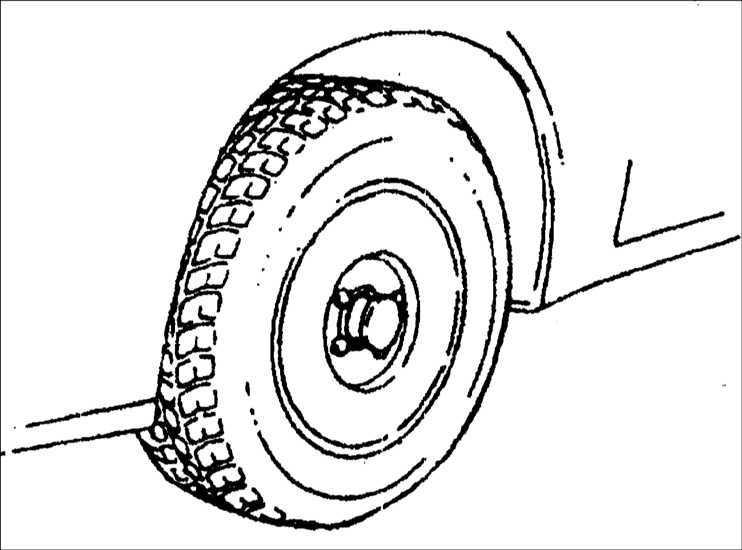 Регулировка углов установки задних колес Kia Clarus 1995-2001