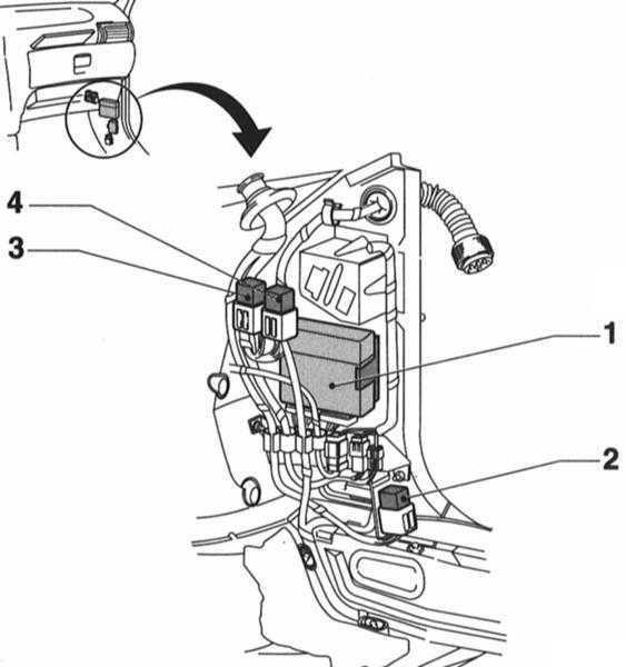 Бортовое электрооборудование Opel Corsa 1993-2000
