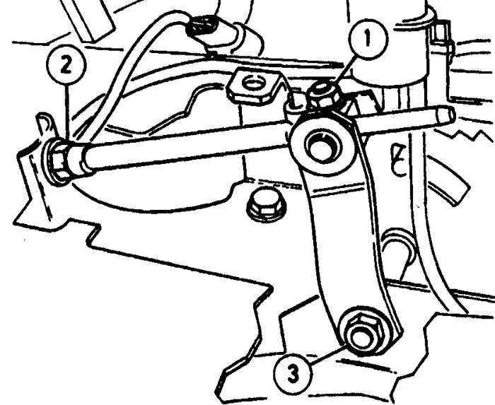 Рычаг селектора Opel Vectra A 1988-1995