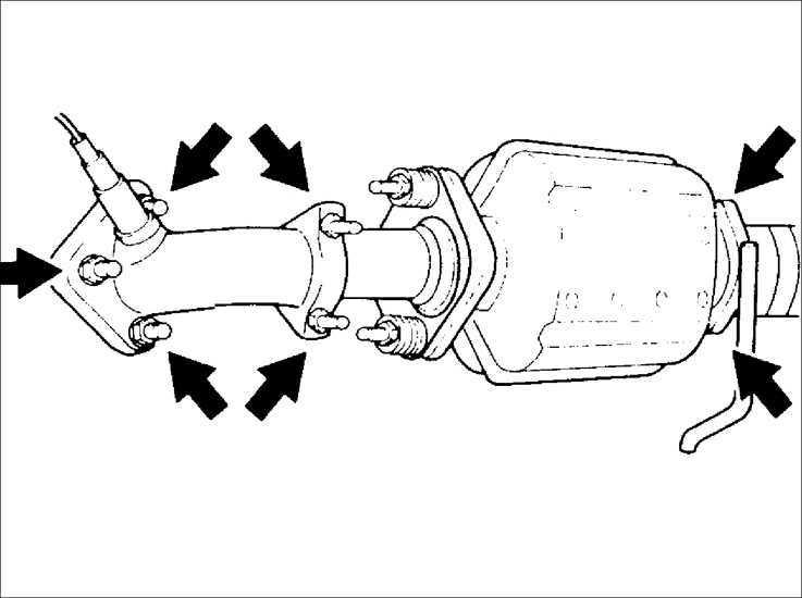 Снятие и установка стартера Kia Sephia 1995-2001
