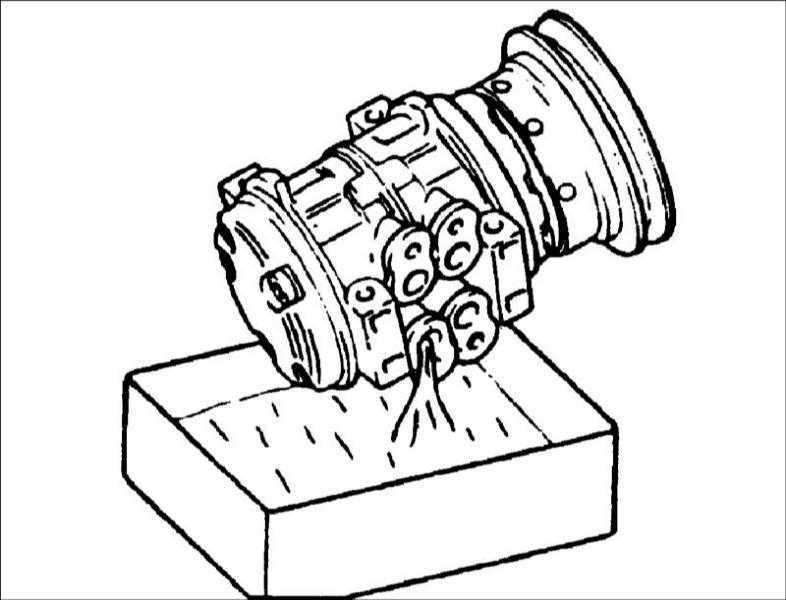 Масло для смазки компрессора кондиционера Hyundai Elantra