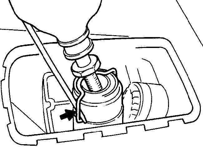 Механизм переключения передач Mercedes-Benz W124 1985-1995
