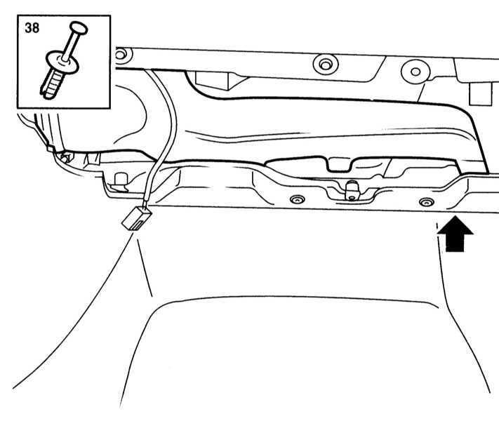 Снятие и установка панели приборов Opel Astra B 1998-2004