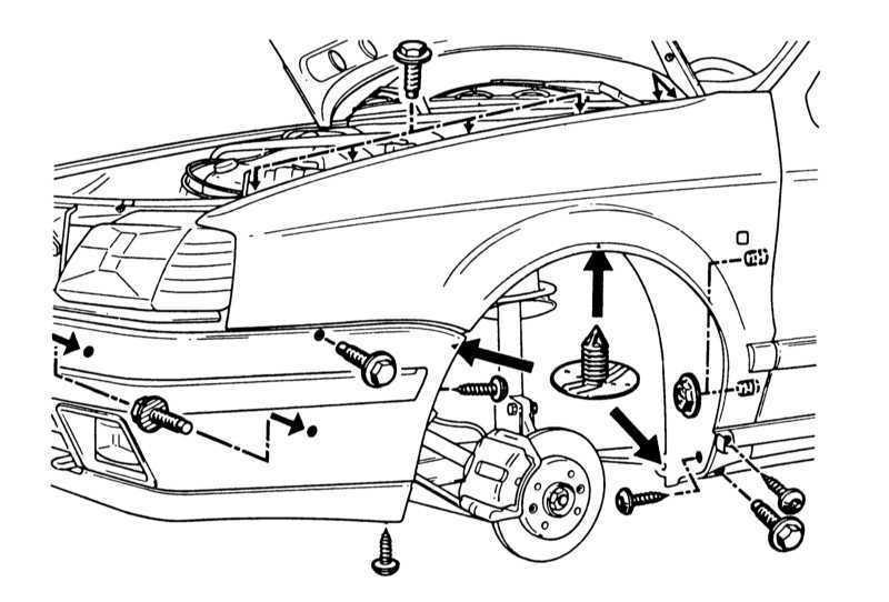 Бамперы Renault 19 1989-1996