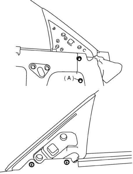 Снятие, установка и регулировка дверных стекол и