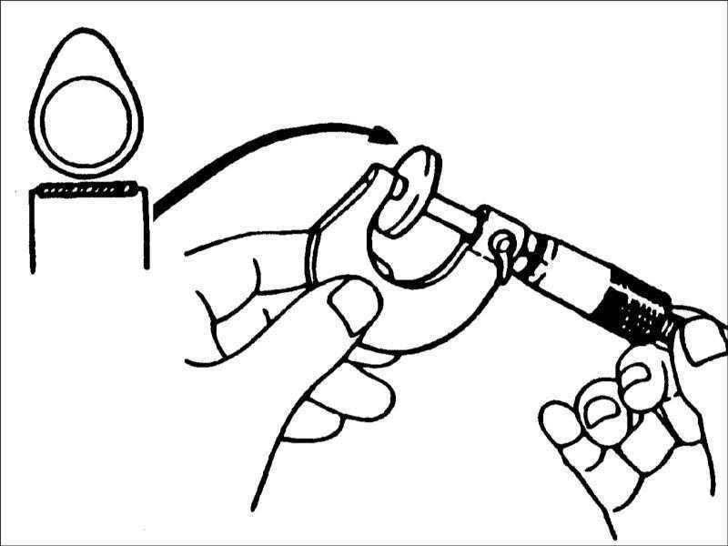 Проверка и регулировка зазоров клапанов на двигателях 1,8