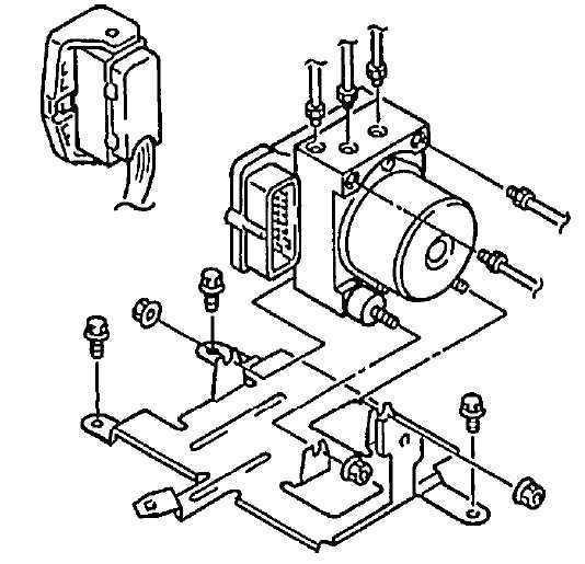 Антиблокировочная тормозная система (ABS) Suzuki Grand