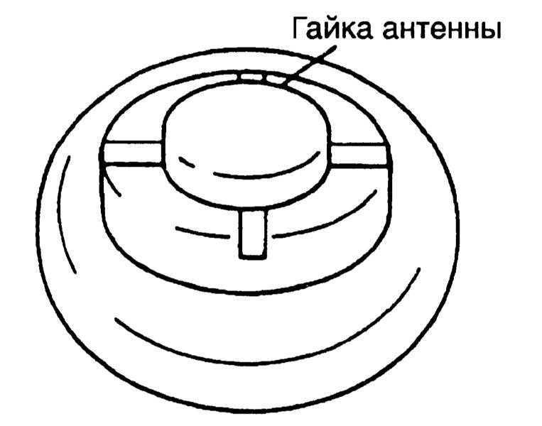 Снятие и установка антенны радиоприемника Toyota Land