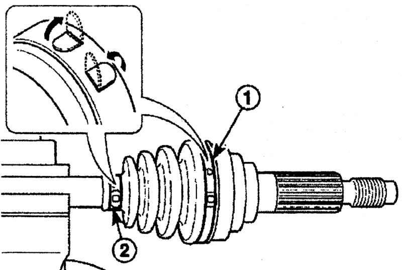 Ремонт внешнего шарнира вала привода Daewoo Matiz 1997+