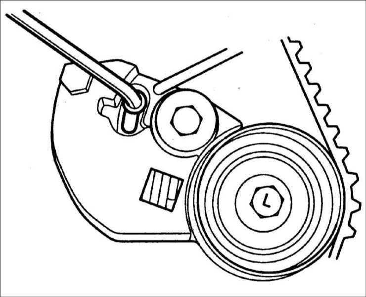 Зубчатый ремень Hyundai Elantra 2000-2004