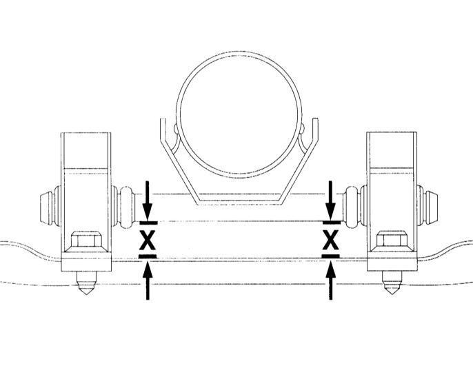 Поверка системы выпуска Audi A3 1996+