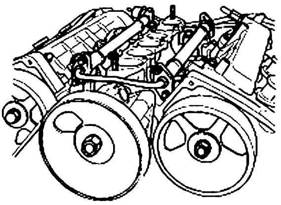 Снятие, проверка и установка впускного коллектора и