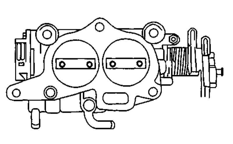 Система питания бензиновых двигателей Kia Sportage 1999-2002