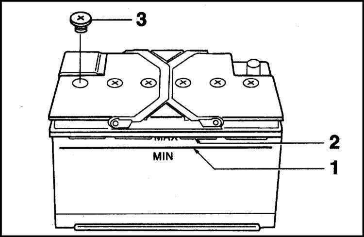 Проверка аккумуляторной батареи BMW 5 (E39) 1996-2001