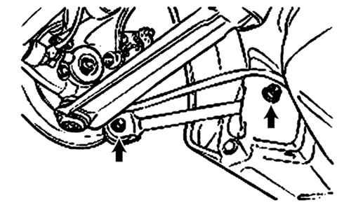 Рычаги задней подвески Hyundai Sonata 2001-2005