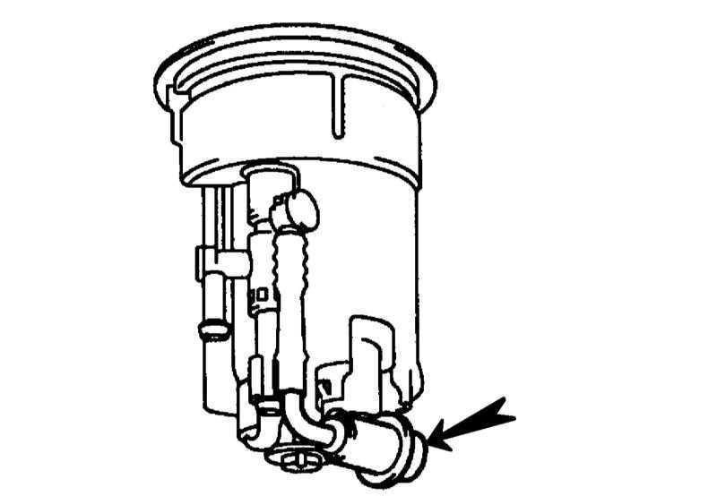 Снятие и установка топливного насоса, датчика запаса