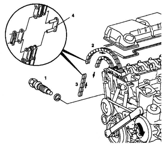 Замена цепи привода ГРМ Mercedes-Benz W140 1991-1999