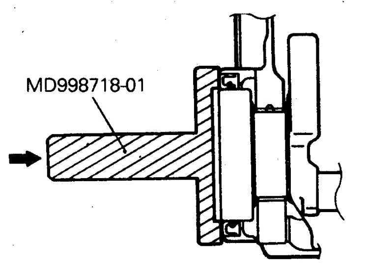 Задний сальник Mitsubishi Pajero 1982-1998