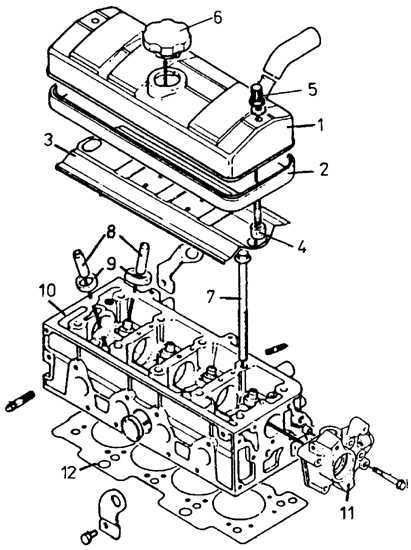 Снятие головки блока цилиндров Peugeot 405 1987-1997
