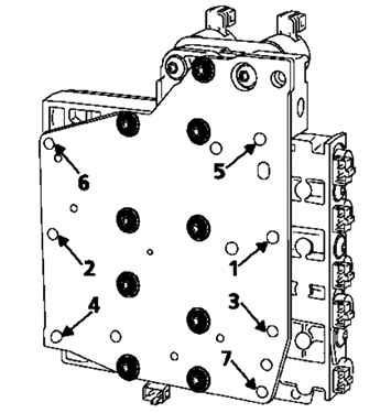 Снятие и установка гидрораспределителя Renault Megane II 2003+