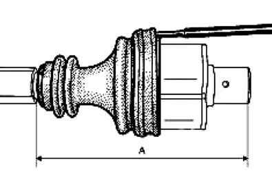 Снятие и установка защитного чехла наружного шарнира вала