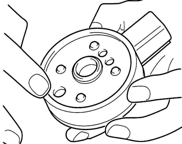 Нагревательный элемент топливного фильтра Opel Corsa 1993-2000