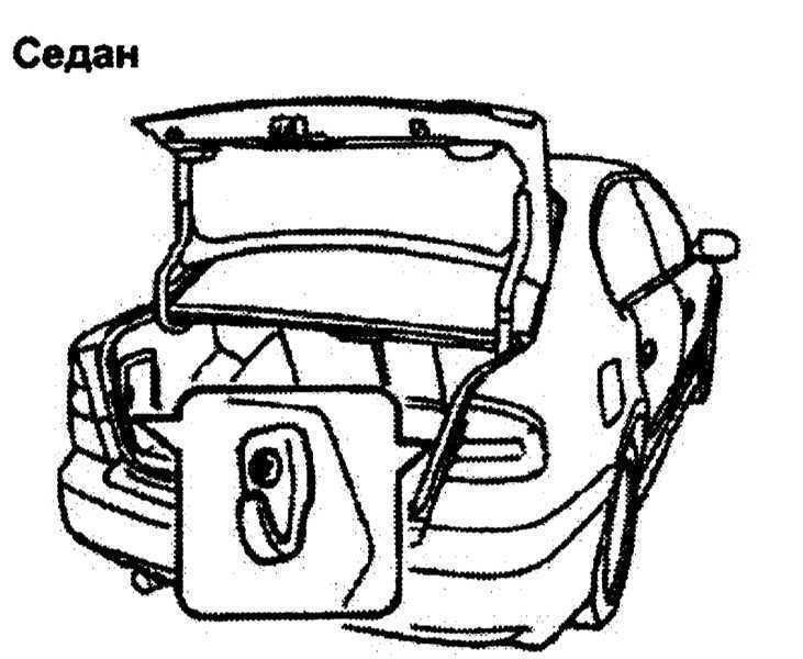Оборудование багажного отделения Subaru Legacy Outback