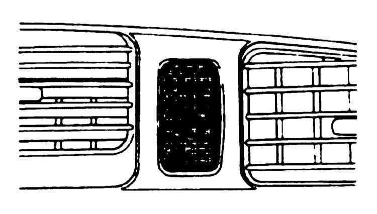 Органы управления и оборудование салона Subaru Legacy