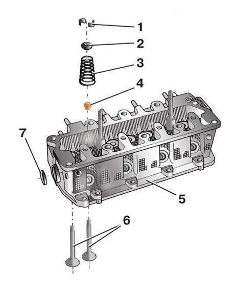 Ремонт головки блока цилиндров Skoda Fabia 2000-2007