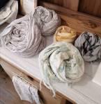暑い季節に肌触り抜群の綿製品はいかがですか。