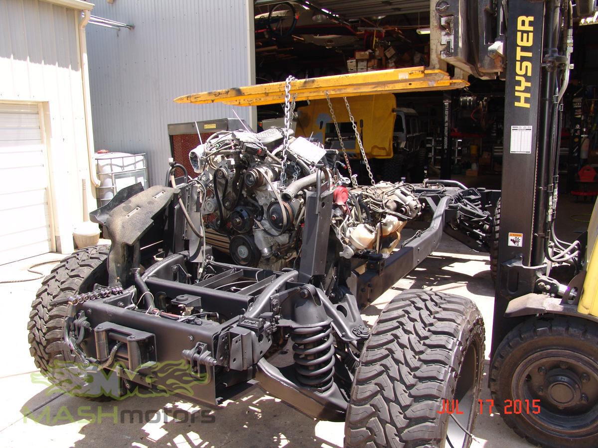 Hummer H1  Humvee Build  Mash Motors