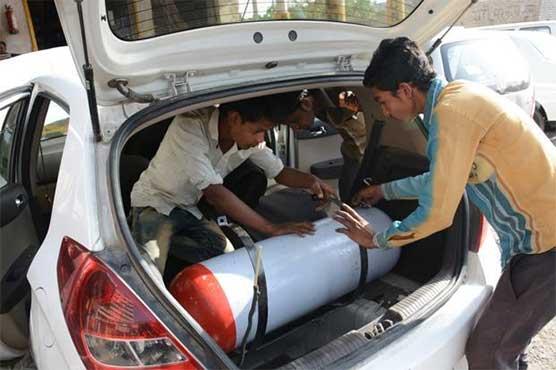 Illegal sale of high pressure CNG in Peshawar