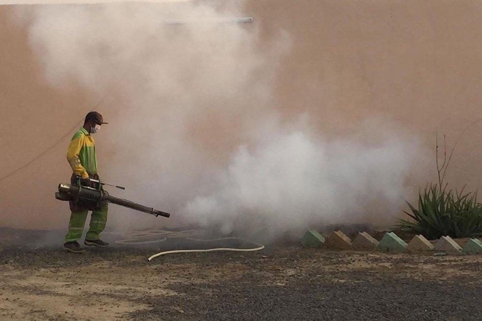 Campaign to control dengue virus