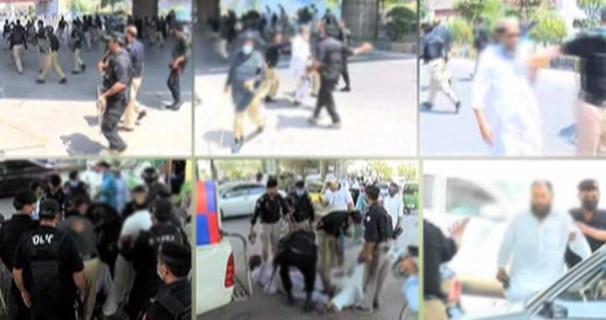 Demonstrations by Afghans in Peshawar,