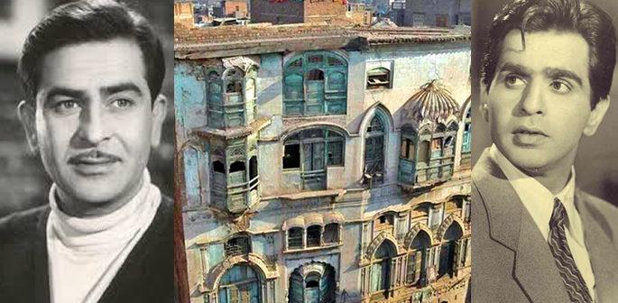 Dilip Kumar and Raj Kapoor's houses