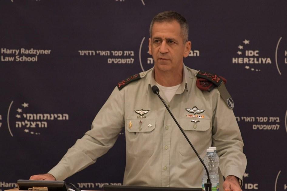 Israeli army chief