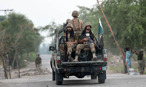Terrorist attack in North Waziristan, 5 security forces martyred