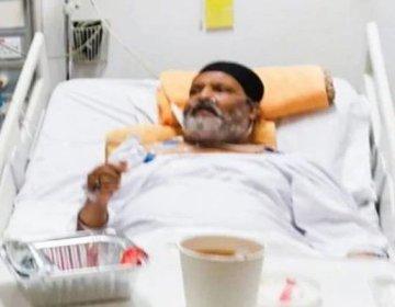 Umar-Shareef-critical-ill