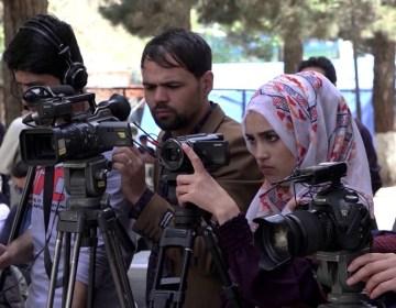 afghani journalist