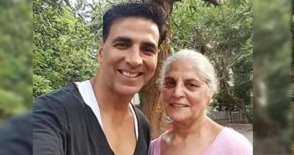 Akshay Kumar's mother dies