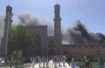مسجد میں دھماکا