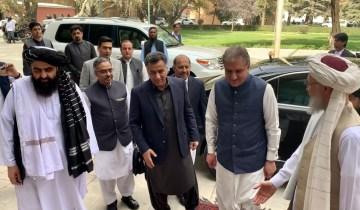 وزیرخارجہ اورڈی جی آئی ایس آئی کابل میں