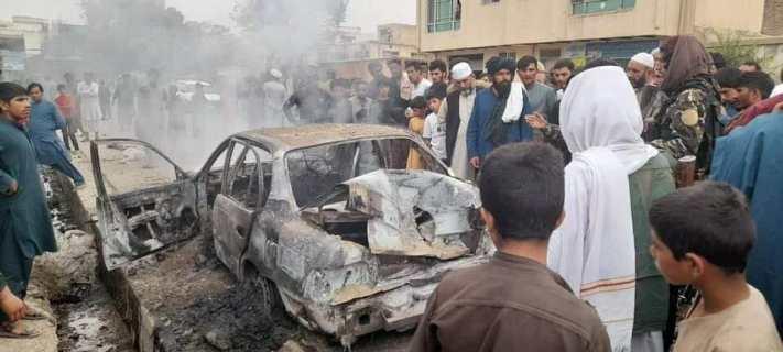 Rocket attacks on Kabul