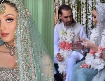 Shahbaz Taseer and Neha Rajput got married